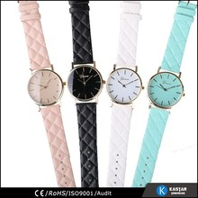 China watch PU strap women watches , geneva watches