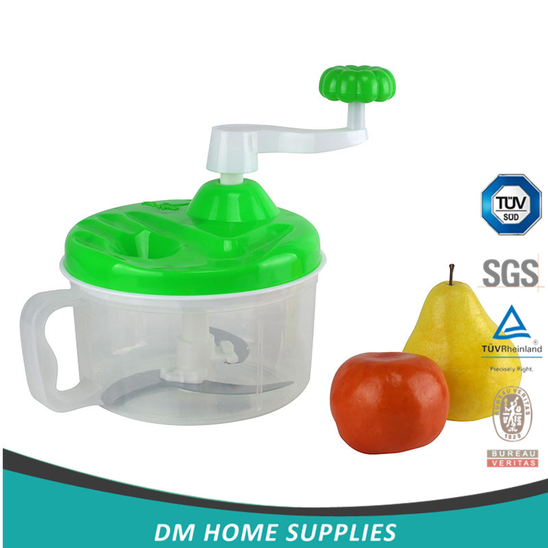 round manual mini chopper vegetable chopper