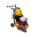 13HP manual push asphalt road concrete cutting machine by Honda
