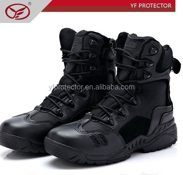 newly cheap top quality OEM/ODM police militry boots /High quality tactical boots