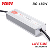 WODE 12.5A 12V 150W Waterproof Ip67 Dc Led Bulb Dimmable Driver BG-150-12