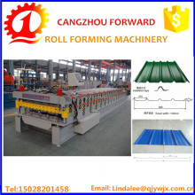 double layer metal wall roof panel making roll forming machine