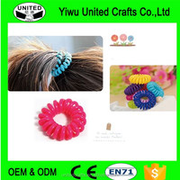 New Fashion Girl Elastic Rubber Hair Ties Band Rope Ponytail Holder 20pcs
