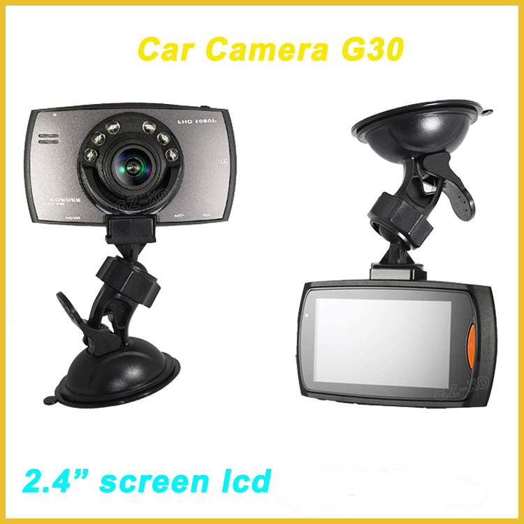 "roof mount car camera,2.4"" car vandalism camera,manual car camera hd dvr g30"
