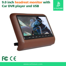9 Inch Multi-fuction automobile headrest car dvd player