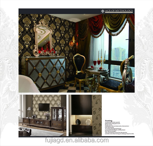 2017 Brand New pvc wall covering vinyl wallpaper