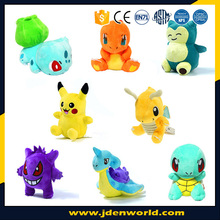 Hot sale pokemon high quality lovely mini plush toys for kids