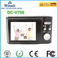 "3X Optical Zoom 18MP Cheap Camera DC-V700 2.4"" 1080P Compact DVR Mini Video Recorder"