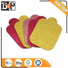 Scrapbook Decoration Glitter Die Cut Shapes