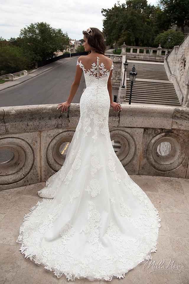 Ll021 Elegant Mermaid Lace Wedding Dresses 2019 Vestido De Noiva ...