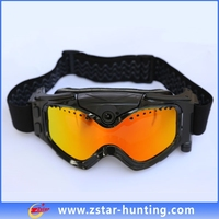 colorful 720P transparent Lens for moto/skiing sports goggles