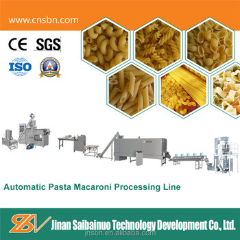 CE Standard Stainless Steel Industrial Pasta Machine