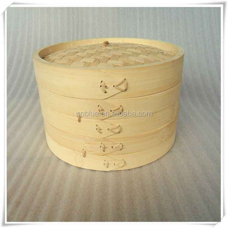 Chinese natural designed bamboo food steamer