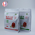 China Suppliers Composite Resealable Poly Zip Lock Plastic Bag With Box Bottom