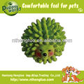 lovely hedgehog latex pet toy,squeaky dog toys