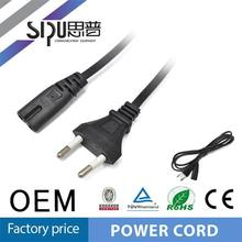 SIPUfactory price eu power cord wholesale european 2 pin electric wire cable best power wire cable price