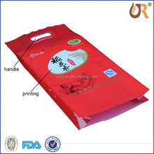 Vacuum rice bag, used for packing flour,grain or beans