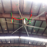 20ft AC Electric Current Type Industrial Big Diameter Ceiling Fan