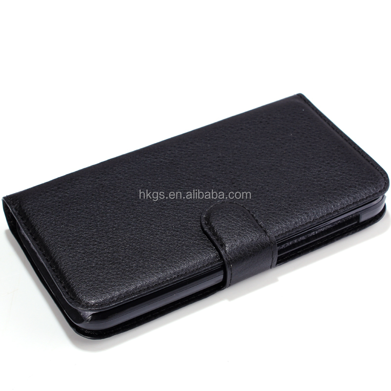 Premium PU Magnet Flip Wallet Leather Case For Huawei Y7 Prime