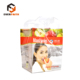 PP Plastic Bags with Soft Loop Handle, Square Bottom