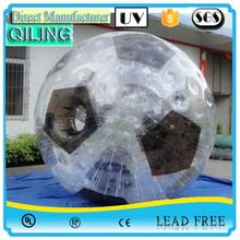 QL Exciting durable shinning zorb fabric for promotion