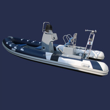 RIB550 Factory Direct Sale Korean PVC Double Hull Fiberglass Fishing Boat