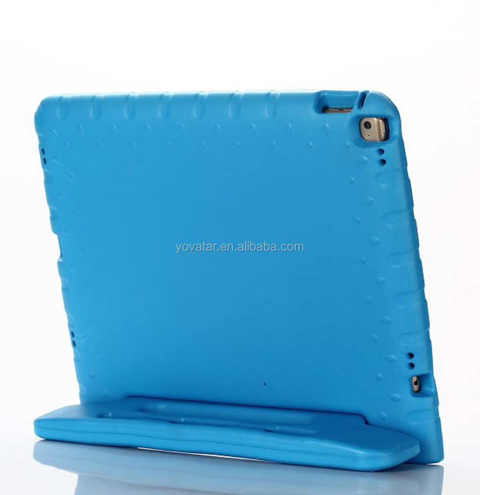 Safe Kids Case Light Weight Shock Proof Handle Eva Foam Case for iPad Pro