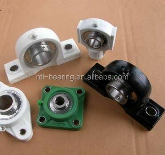 Stainless Steel Bearing with plastic Housing of Square Flange Unit SUCF205