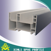chinese factory manufcturer supply 80 sliding series of UPVC profiles window plastics