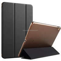 FRONT AND BACK phone case For ipad air, for ipad smart PU + PC cover