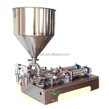 China Manufacturer Garlic Paste Filler Machine in Stocks with Best Price,Manual Table Top Portable Garlic Paste Filling Machine