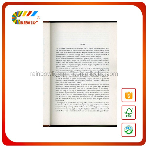 English language dictionary printing factory spot UV urdu to english dictionary
