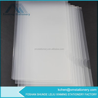 a4 size L shaped clear folders a4 L shaped transparent folder transparent plastic folders a4