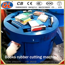 used paper recycling making book rubber cutting machine for sale