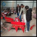 Hand push gasoline engine teff harvester machine
