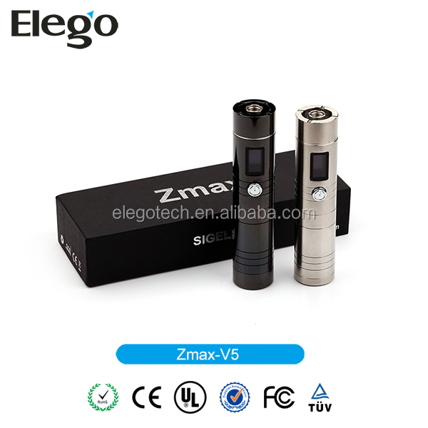 Sigelei Zmax V5 Variable Voltage Wattage New Telescope Vape Mod in Stock