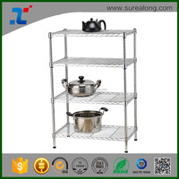 SUREALONG Home Storage Kitchen Organization Chrome Plated Wire Shelving
