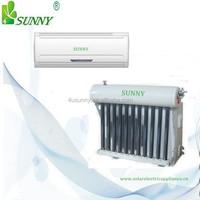 Christmas Promotions solar ac 100% solar air conditioner, 24V DC or 48V DC solar air conditioner-18000BTU