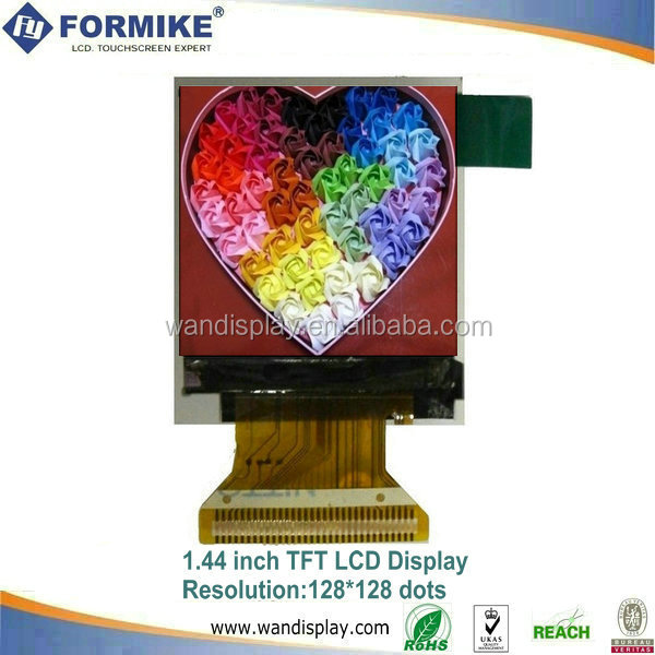 Formike 128x128 small square lcd display 1.44 inch (KWH014ST02-F01)