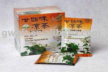 Less Sugar Twenty-four Flavours Herbal tea