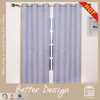 1PC FAUX LINEN BLACKOUT CURTAIN FOR MANUFACTURED HOME