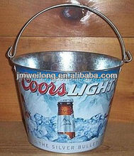 COORS LIGHT METAL BEER ICE BUCKET
