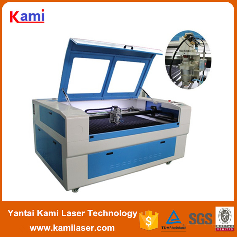 150/180/260W co2 Metal and nonmetal laser cutting machine for cutting stainless steel 1300*900mm