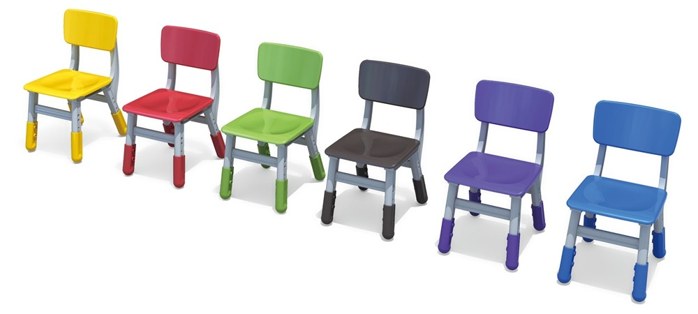school or kindergarten kids plastic chair