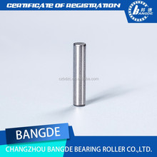 4.5mm*9.8mm Manufacture dowel pin split pin used for flat roller bearings