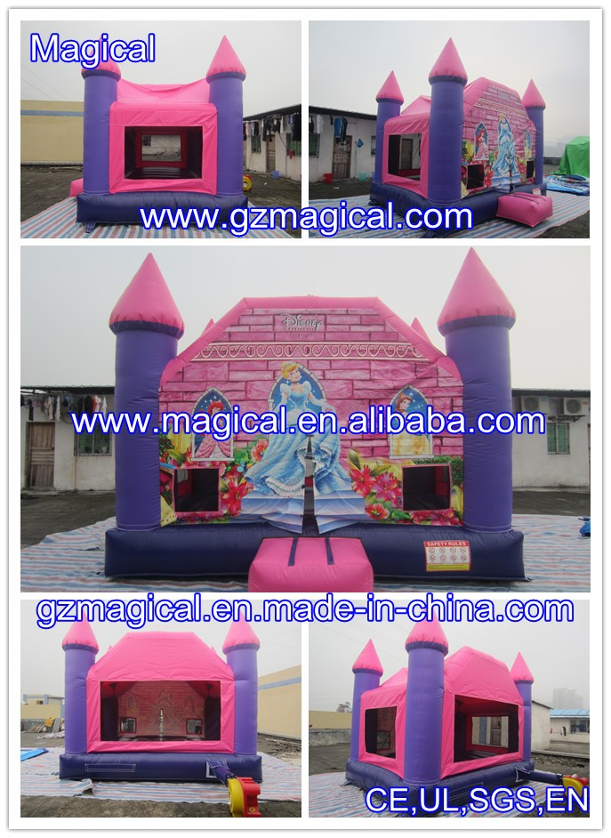 Sweet Princess inflatable bouncy castle