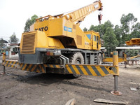 Used 45 ton Japanese Kato rough terrain crane, Kato KR45H-V crane for sale, competitive price