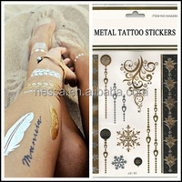 New fashionable low mini order temporary tattoo arm sleeves wholesale NSTK-31