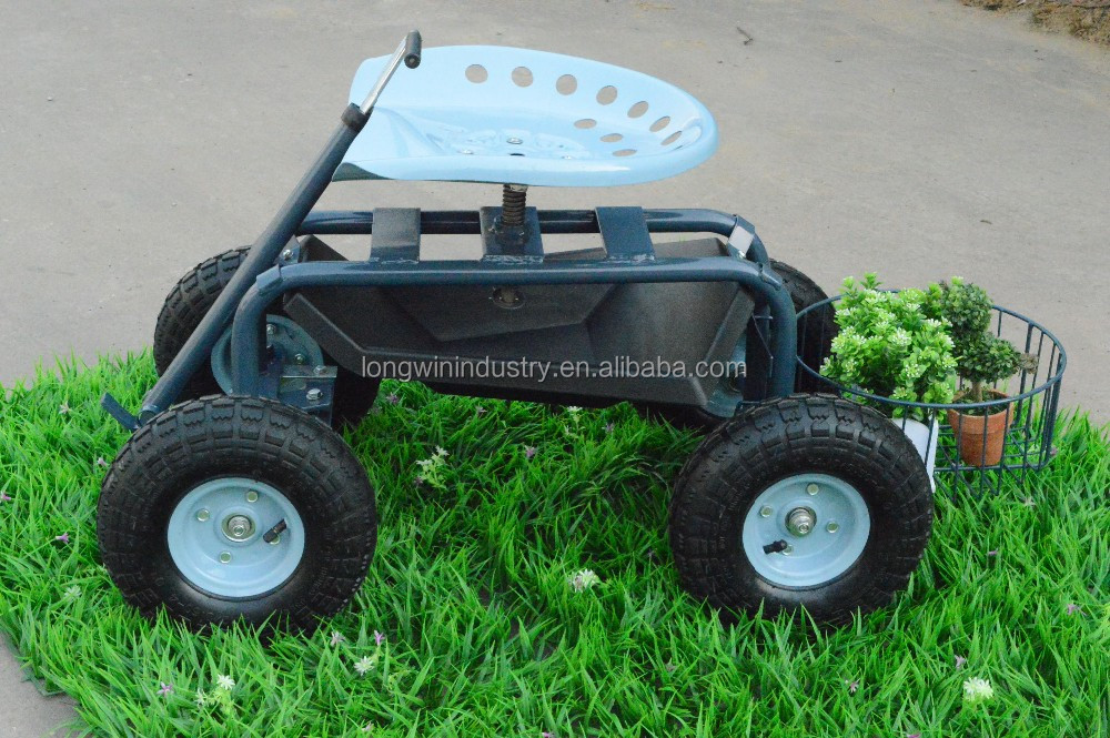garden caddy tractor seat on wheels buy caddy tractor