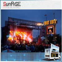 Hot sale China Video LED Dot Matrix Outdoor Display For Stage Truck Display Show